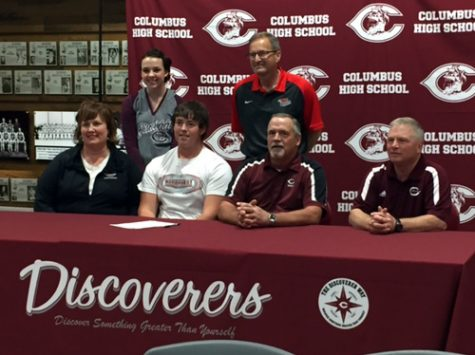 Columbus High golfer signs with Northeast Community College