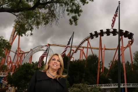 She started flipping burgers, now she's the boss at Six Flags Magic Mountain