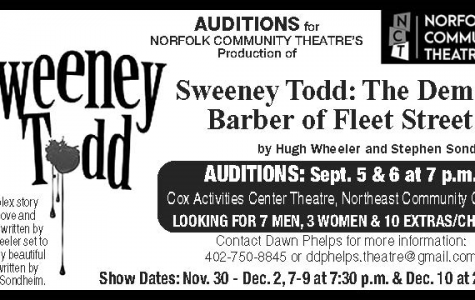 Audition for Sweeney Todd!