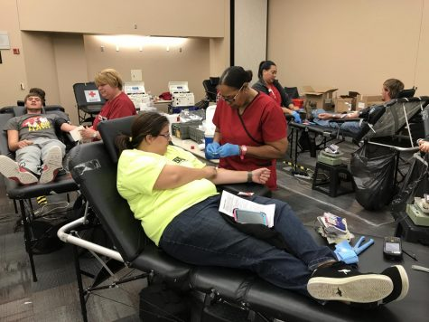 Northeast students show out for blood drive