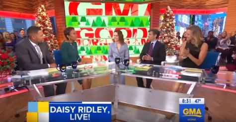 Daisy Ridley on Good Morning America