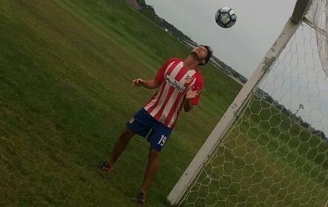 Northeast International student Edison Delgadillo