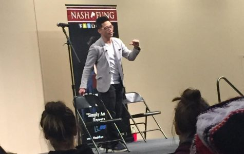 A great performance by mentalist Nash Fung