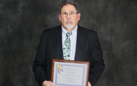 Nebraska State Patrol honors Northeast media arts instructor with public service award