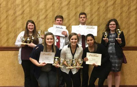Northeast Phi Beta Lambda competes at the Nebraska State Leadership Conference