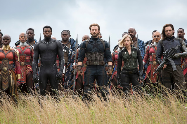 Marvel+Studios%27+AVENGERS%3A+INFINITY+WARL+to+R%3A+Okoye+%28Danai+Gurira%29%2C+Black+Panther%2FT%27Challa+%28Chadwick+Boseman%29%2C+Captain+America%2FSteve+Rogers+%28Chris+Evans%29%2C+Black+Widow%2FNatasha+Romanoff+%28Scarlet+Johansson%29+and+Winter+Soldier%2FBucky+Barnes+%28Sebastian+Stan%29Photo%3A+Chuck+Zlotnick%C2%A9Marvel+Studios+2018