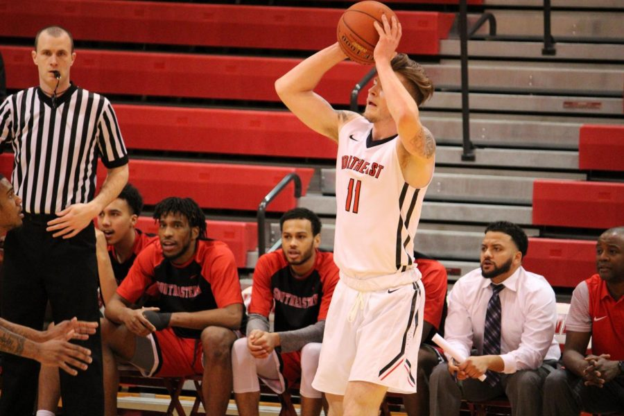 Battling the whole game: Hawks lose to Southeastern