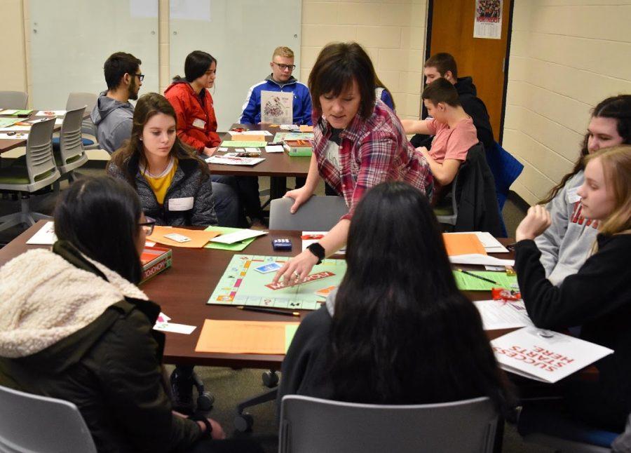 High school freshman explore career options at Northeast Community College