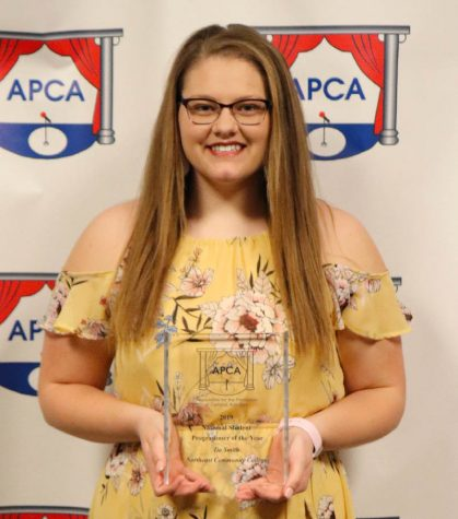 Northeast student earns national honor