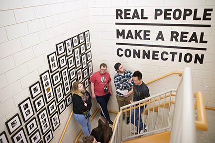 Graphic design students get up-close look at workplaces; portfolio show set for April 27